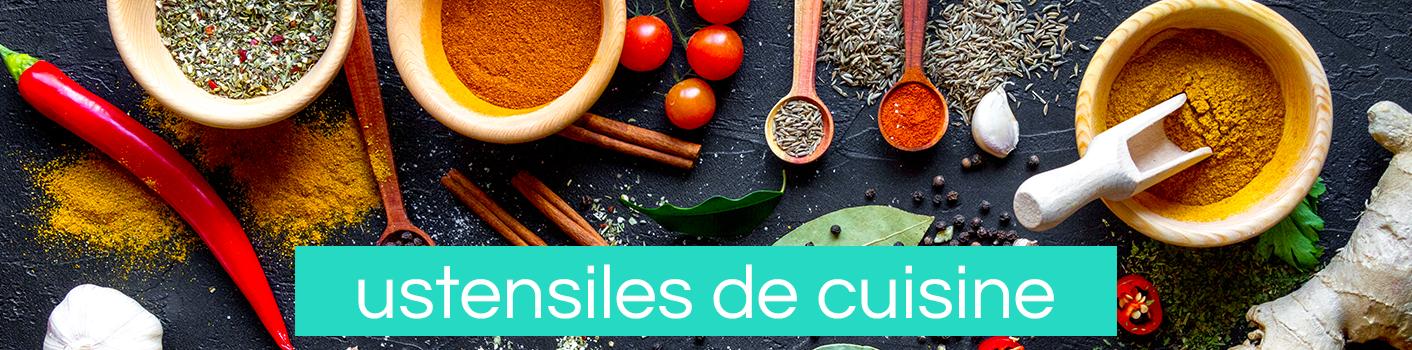 Ustensiles pour agrumes, fruits et légumes