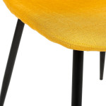 Chaise TYKA jaune