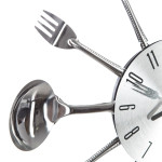 Horloge ustensiles