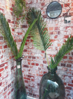 Feuille palmier artificielle H 113 cm