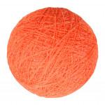 Boule tissu orange