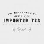 Boîte à thé colonial
