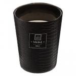 Bougie Parfum Vanille dans pot en verre effet crocodile 480 g