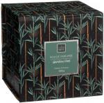 Bougie parfumée de bambou vert dans pot en verre 390G