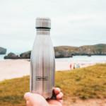 Bouteille isotherme Inox à double paroi, 350 ml, Gourde en acier inoxydable - Garde Froid 8h ou Chaud 12h - Sans BPA