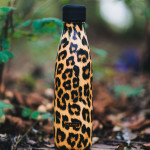 Bouteille isotherme TIGRE à double paroi, Gourde en acier inoxydable - Garde Froid 8h ou Chaud 12h - Sans BPA