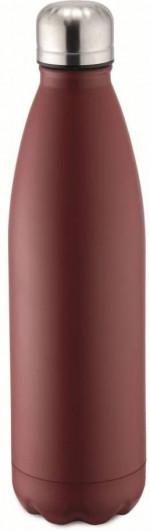 Bouteille isotherme rouge à double paroi 1000 ml, Gourde en acier inoxydable - Garde Froid 8h ou Chaud 12h - Sans BPA