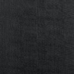 Chaise TYKA noire, tissu et pieds en métal noir