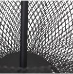 Corbeille à fruits 2 étages, Métal noir