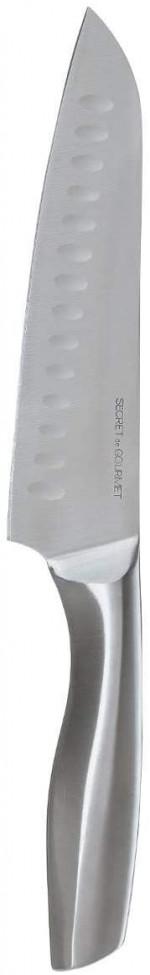 Couteau Santoku en Inox forgé - 31,5 cm