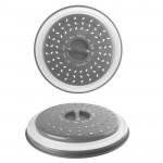 Couvercle en silicone rétractable pour micro-ondes, diam 27 cm