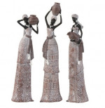Femme africaine – Statue décorative – H 47 cm