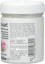Gélatine glaçage, effet miroir blanc, 225 g, Décoration gâteaux - Silikomart
