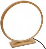 Lampe LED ronde en Bambou D 32 cm