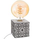Lampe socle céramique Caro H 11 cm