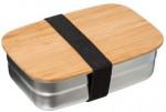 Lunch Box inox + bambou 0,85L