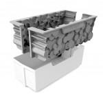 Moule Silicone 3D – Forêt – 24x10x8,2 cm - Silikomart