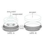 Moule Silicone – Insert Multi Rond - Silikomart