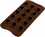 Moule chocolat 3D Choco Flame, Silikomart
