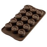 Moule chocolat Vertigo, Silicone, Silikomart