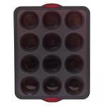 Moule silicone Maxi « Silitop », Rigide, 12 Muffins