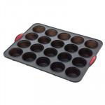 Moule silicone Maxi « Silitop », Rigide, 20 Muffins