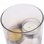 Photophore pour 2 bougies