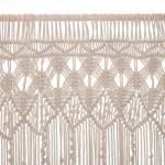 Rideau en fil macramé 90 x 200 cm