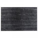 Set de table design bois authentic, aspect ébène, 30 x 45 cm