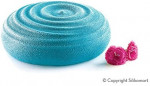 Spray alimentaire, effet velours bleu, 150 ml, Décoration gâteaux - Silikomart