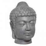Statue tête Bouddha intérieur – extérieur