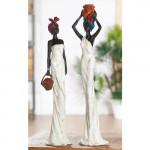 Statue africaine, Tortuga, H 44 cm