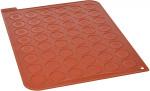 Tapis silicone pour 48 macarons 30 x 40 cm, Silikomart