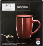 Tisanière rouge 32 cl
