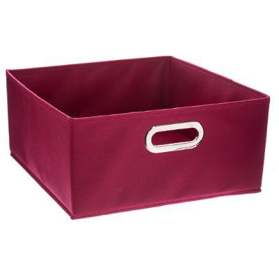 Boîte de rangement framboise
