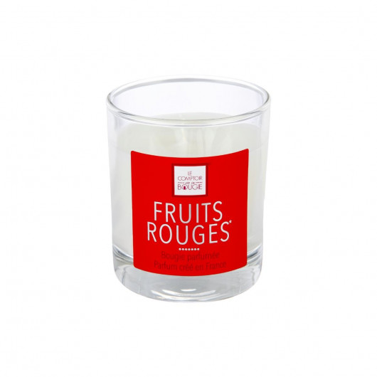 Bougie fruits rouges