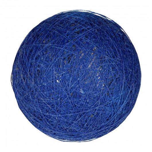 Boule tissu indigo