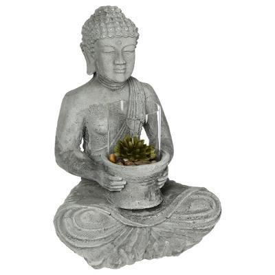 Bouddha ciment