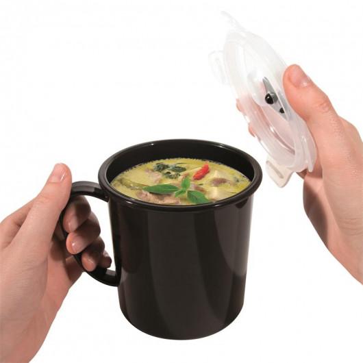 Bol spécial soupe à transporter pour Micro-Ondes
