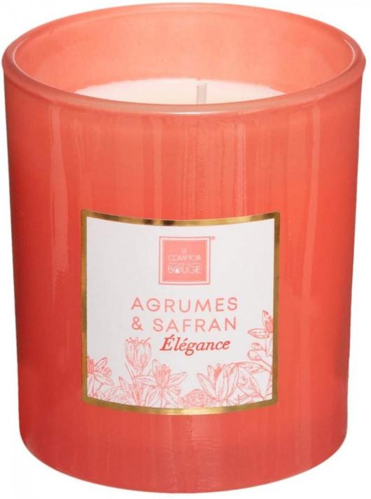 Bougie parfumée Agrumes & Safran 190 gr