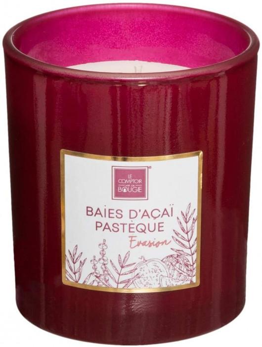 Bougie parfumée Baies d'Acai, Pastèque 190 gr