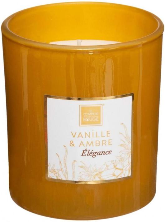 Bougie parfumée Vanille & Ambre 190 gr