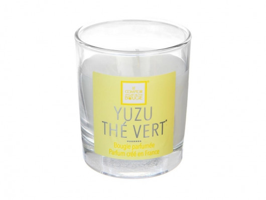 Bougie parfumée yuzu thé vert 190 gr