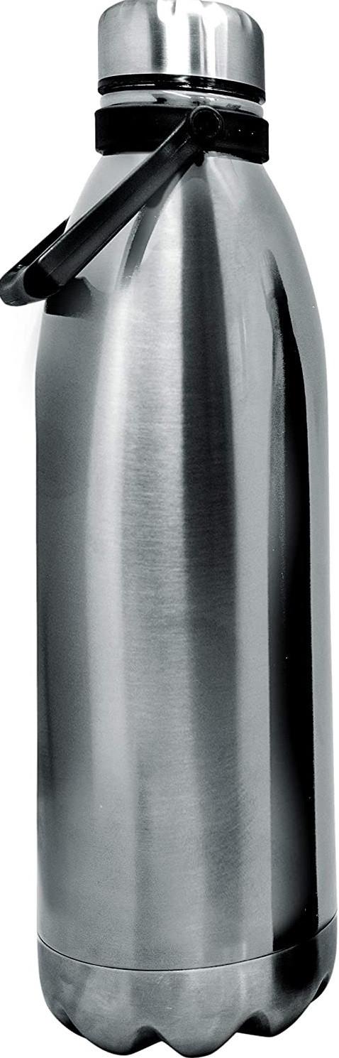 Bouteille isotherme Inox à double paroi, 1500 ml, Gourde en acier inoxydable - Garde Froid 8h ou Chaud 12h - Sans BPA