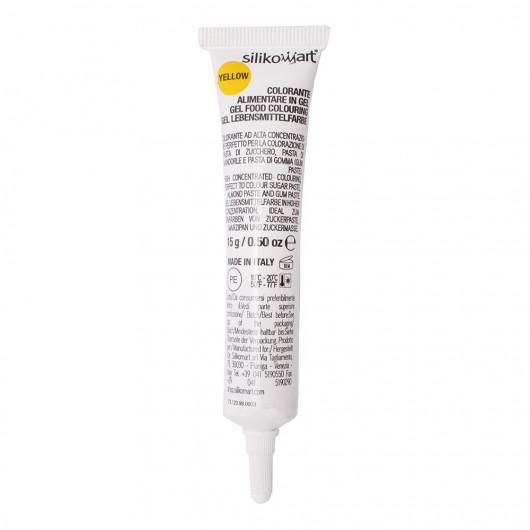 Colorant alimentaire en gel jaune, 15 g - Silikomart