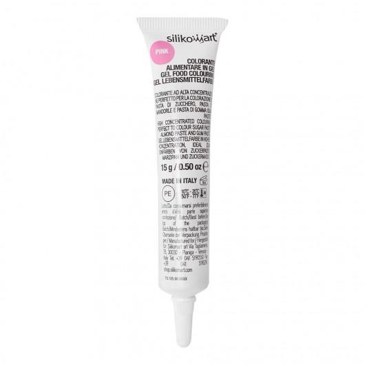 Colorant alimentaire en gel rose, 15 g - Silikomart