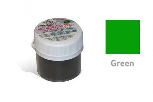 Colorant poudre hydrosoluble Vert 5 g -Silikomart
