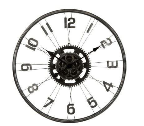 Horloge en Métal, Roue de vélo (60x5x60cm)