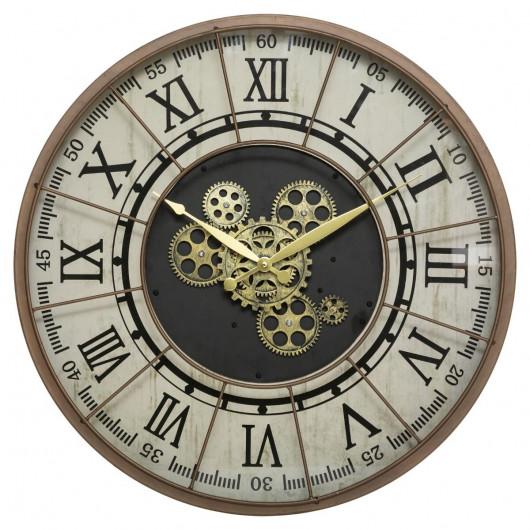 Horloge rouages mobiles D57
