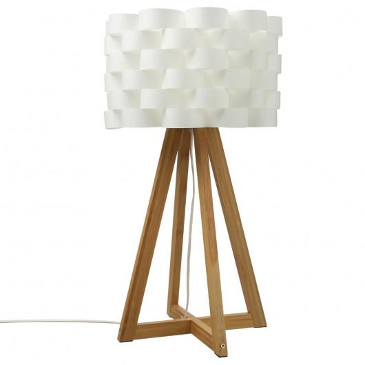 Lampe Moki en Bambou - H 55 cm